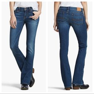 Lucky Brand Charlie baby boot cut dark wash jeans